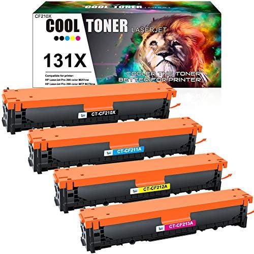 Cool Toner Remanufactured Tonerkartusche For Für Hp 131x 131a Cf210x Cf210a Für Hp Laserjet Pro 200 Color Mfp M276nw M276n M251n M251nw M276 M251 128a Ce320a Cm1415fn Cp1525n 125a Cb540a Cp1215 Bürobedarf
