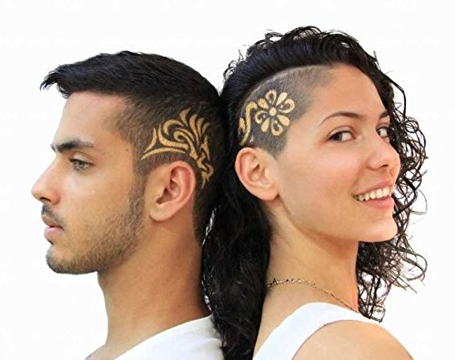 Hairstyles 2017 Hair Tattoo 30 Design Pattern Ideas for Men Women Boys Girls Thin Medium Hair (Ideas For Hairstyles)