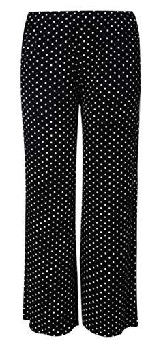 Taille Polka 21fashion Print Femme Pantalon Dot Imprimé Unique HqqUTw6t