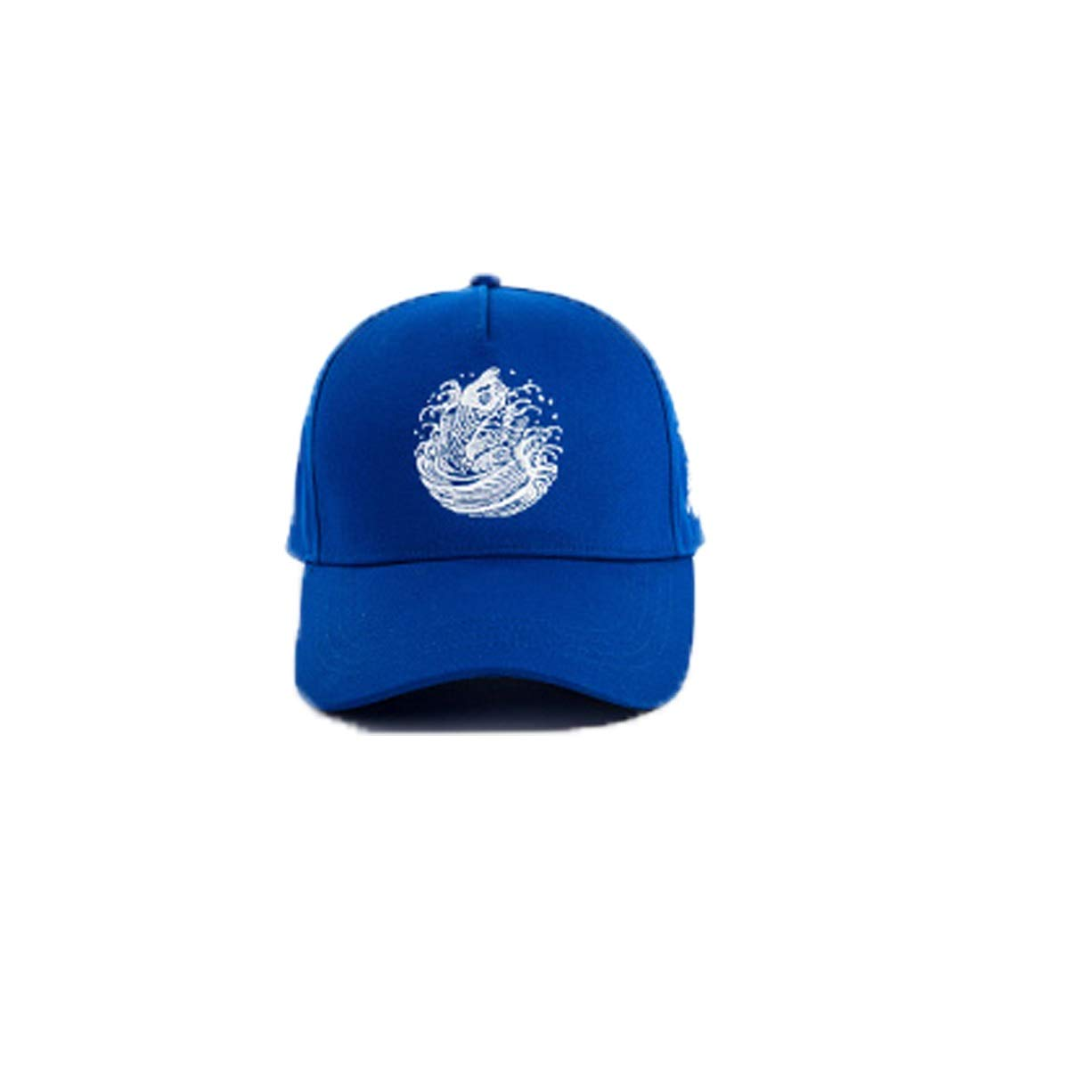 Zhongyue Hat Male Summer Cap Chinese Style Outdoor Sports Cap Casual Wild Baseball Cap, White, Blue, Black Summer hat (Color : Blue)