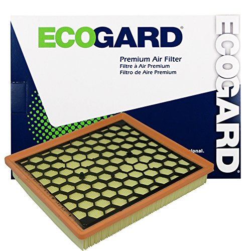 ECOGARD XA6130 Premium Engine Air Filter Fits Buick LaCrosse, Regal / Chevrolet Malibu / Saab 9-5 / Chevrolet Impala / Buick - Air Regal Buick
