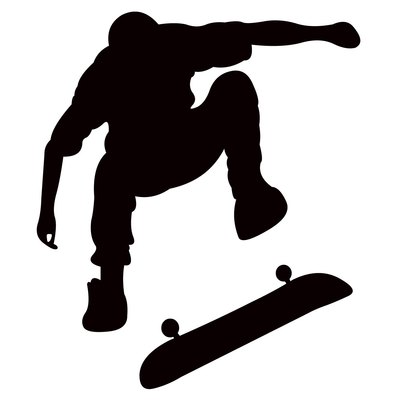 Amazon.com: Playing Skateboards Sports Wall Decal Home