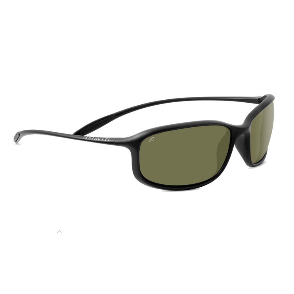 Serengeti 8204 Sestriere, Satin Black Frame, Polar PhD 555 Lens by Serengeti