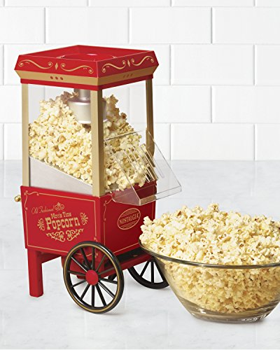 082677135018 - Nostalgia OFP501 Vintage Collection 12-Cup Hot Air Popcorn Maker carousel main 1
