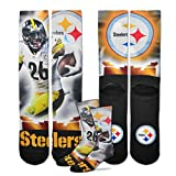 Pittsburgh Steelers Le'Veon Bell City Star Socks