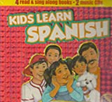Kids Learn Spanish Handlebox- 4 books, Twin Sisters Productions Staff, 1599221101