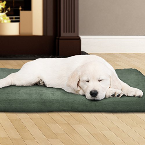 PETMAKER 80-PET4010 3″ Foam Pet Bed 27 x 36, Forest Tan