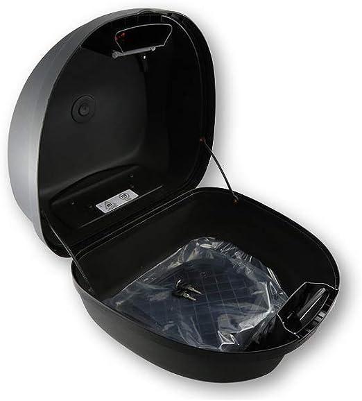 schwarz Stauraum f/ür 1 Helm 32 Liter mit Montageplatte SHIN YO SHIN YO Top Case VERONA