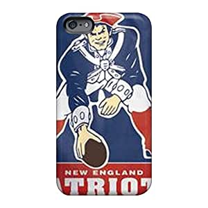 Apple Iphone 6 Plus LoQ23ViCW Customized High Resolution New England Patriots Image Shock Absorption Hard Cell-phone Cases -RandileeStewart