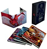 Dungeons & Dragons Core Rulebooks Gift Set (Special Foil Covers Edition with Slipcase, Player's Handbook, Dungeon Master's Guide, Monster Manual, DM Screen): more info