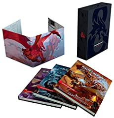 The perfect gift for the Dungeons & Dragons fans in your life or as a treat for yourself.    Need a gift for the holidays? A birthday present, a treat for yourself? This is it. Inside the D&D Core Rulebook Gift Set are special foil co...