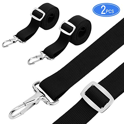 Kohree Bimini Top Straps Boat Strap Awning Straps Marine Webbing Straps Adjustable with Loops, Snap Hooks 28