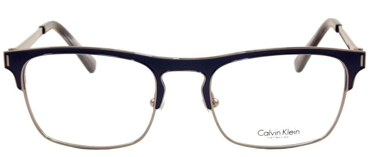 b33af30813309 Óculos de Grau Calvin Klein Ck8016 405 52 Azul  Amazon.com.br  Amazon Moda