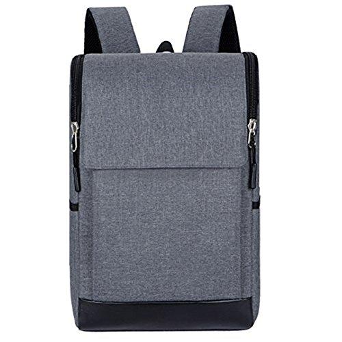 Mefly 2017 nueva laptop bag mochila para hombres de negocios diario equipo Mochila Mochilas de gran capacidad bolsa de nylon impermeable hombros ,negro gray