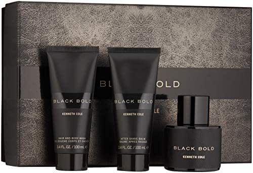 Kenneth Cole Black Bold 3 Piece Gift Set