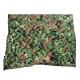 Camouflage Three-Layer Shade Net Cloth 85% Sun Protection Breathable Garden Flowers Anti-UV Multipurpose Wire Mesh,23 Sizes,Armygreencamouflage-35m