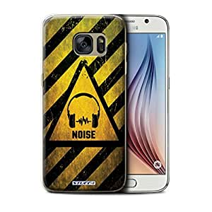 STUFF4 Phone Case / Cover for Samsung Galaxy S6/G920 / Noise/Music Design / Hazard Warning Signs Collection