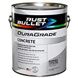 Rust Bullet DuraGrade Concrete High-Performance Easy to Apply Concrete Coating in Vibrant Colors for Garage Floors, Basements, Porch, Patio and More.- (Gallon, White) (Color: White, Tamaño: Gallon)