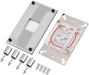 fosa Computer AM2 / AM2+ / AM3 / AM3+ / AM4 / FM2+ CPU Water Cooling Block Waterblock Copper Base with Micro Channel