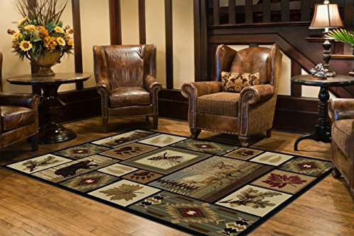 Universal Rugs Lodge Novelty Multi product image