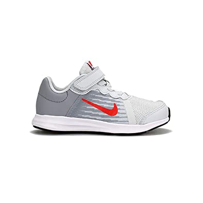 huge selection of 554ca 799fa Nike Jungen Downshifter 8 (PSV) Fitnessschuhe Mehrfarbig (Pure  Platinum/Habanero Red/