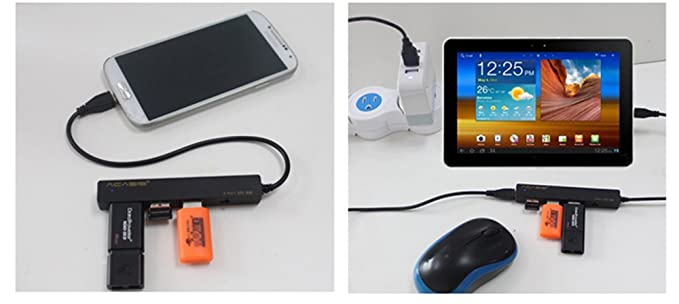 Amazon.com: Universal USB cable cargador HUB OTG para Tablet ...