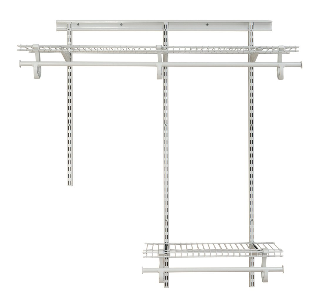 Amazon.com: ClosetMaid 2087 ShelfTrack 2ft. to 4ft. Adjustable ...