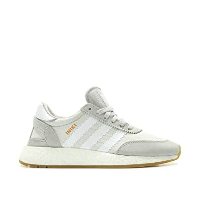 separation shoes 57035 d7730 adidas Iniki Runner Womens in GreyWhiteGum, 5