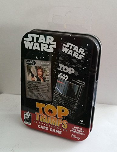 Star Wars Top Trumps Play Discover Card Game in Collectib...