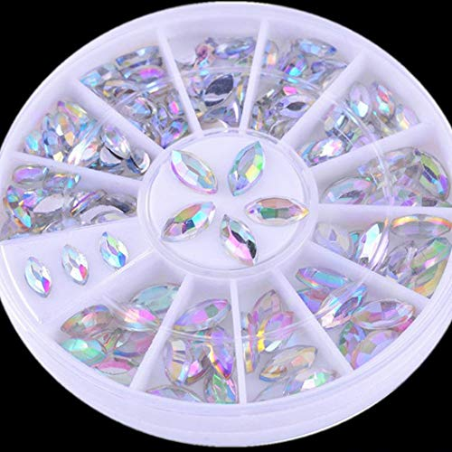 Mixed Color Chameleon Stone Nail Rhinestone Small Irregular Beads Glitter Crystal Manicure 3D Nail Art Decoration In Wheel 24 by DKjiaoso