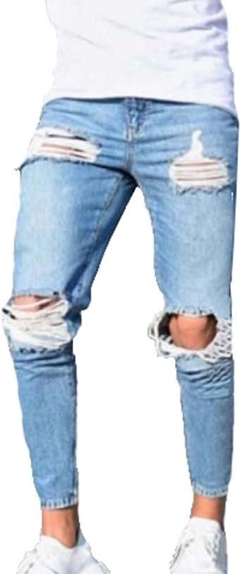 pantalon homme déchiré
