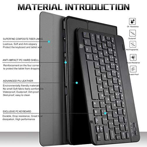 luibor keyboard case for samsung galaxy tab s5e