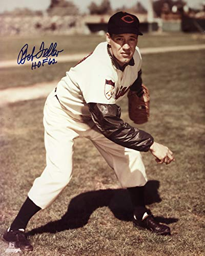 Bob Feller Cleveland Indians 16-5 16x20 Autographed Photo - Certified Authentic