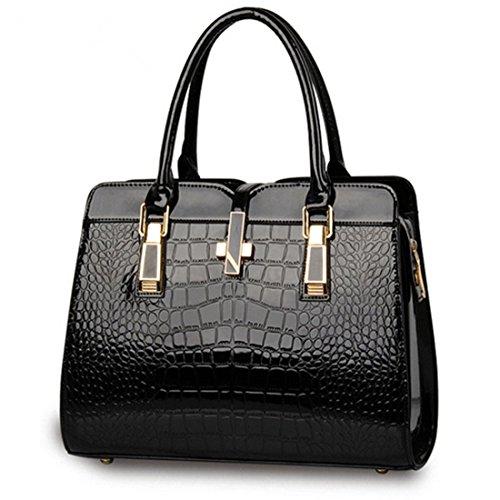 sfpong - Bolso mochila  para mujer blanco Black-02