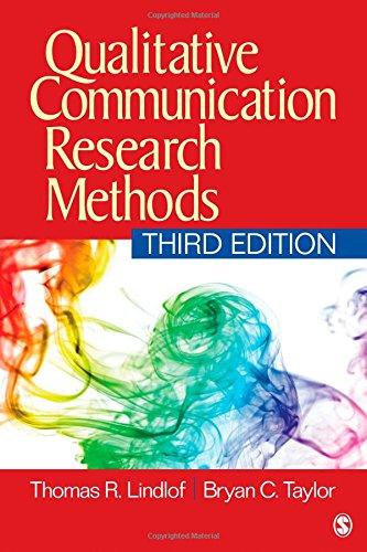 Qualitative Communication Rsrch.Methods