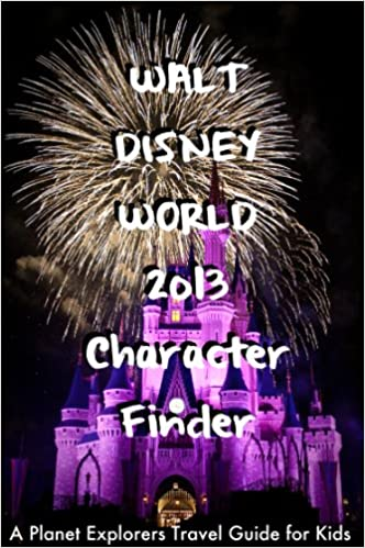 Walt Disney World 2013 Character Finder: A Planet Explorers