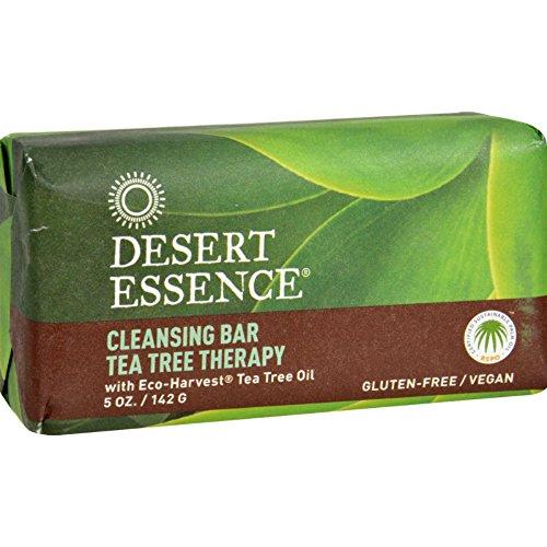 Desert Essence Bar Soap - Tea Tree Therapy - 5 oz