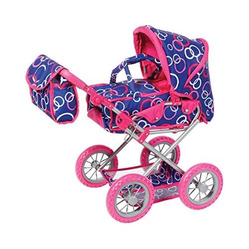 chollos oferta descuentos barato Cochecito para muñecas calesín de Knorr Toys Knorr63199 Combi Ruby con diseño de Anillos
