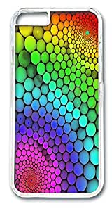 ACESR Colorful Whirl Lightweight iPhone Case PC Hard Case Back Cover for Apple iPhone 6 4.7inch