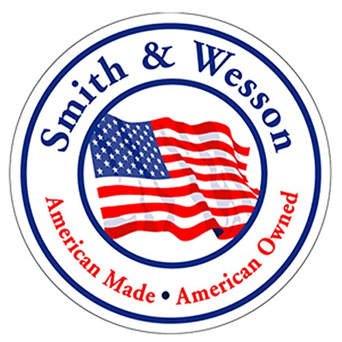 "Authentic Smith & Wesson Since 1852 American Made/American Owned Decal Signature 4"" Decal"