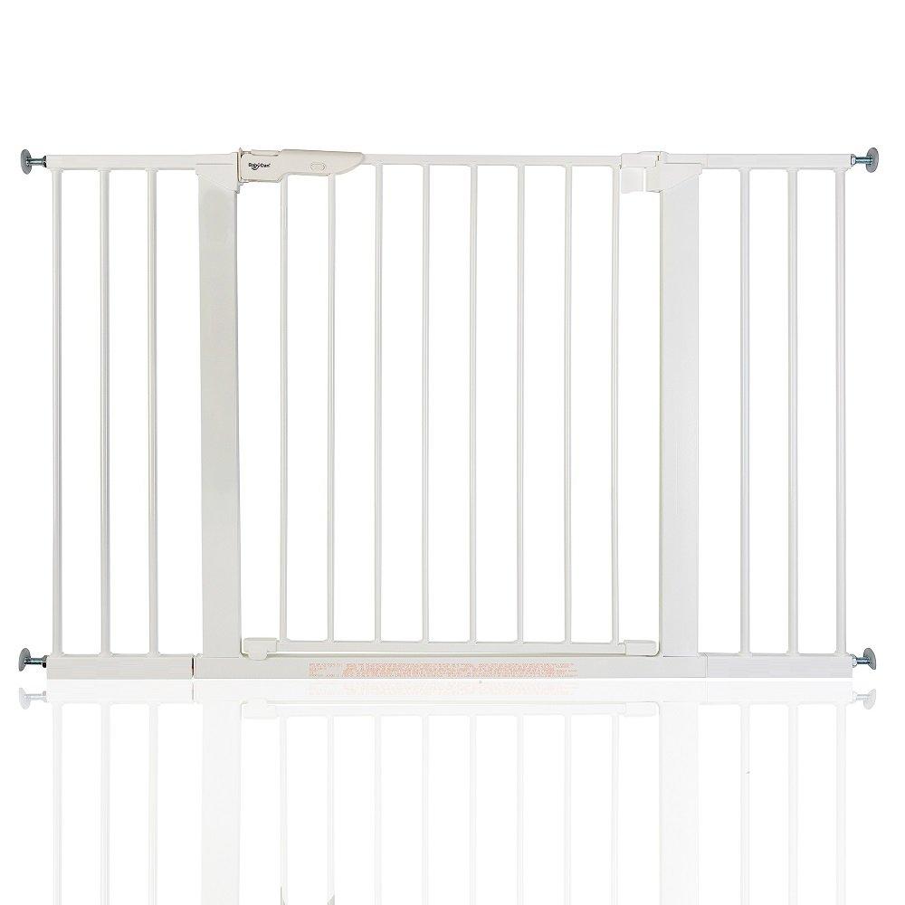 BabyDan Premier Wahre Druck Weiß Schutzgitter Treppengitter Türschutzgitter, Breiten von 73,5 - 119,3cm 5 - 112 8cm