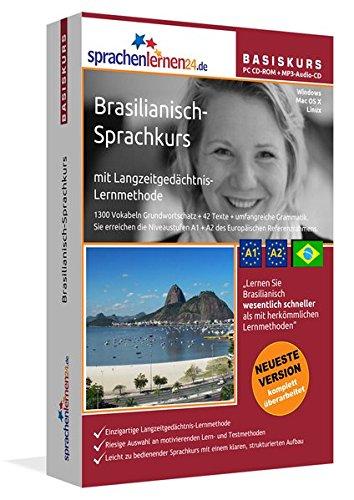 Sprachenlernen24.de Brasilianisch-Basis-Sprachkurs: PC CD-ROM für Windows/Linux/Mac OS X + MP3-Audio-CD für MP3-Player. Brasilianisch lernen für Anfänger