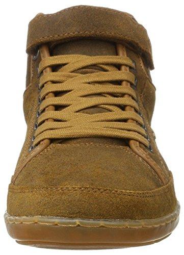 Swich braun Marrone Uomo Sneaker Blok Alto Collo A Boxfresh 1AdzBOqd