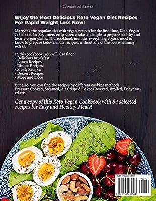 Best Cookbooks 2020.Keto Vegan Cookbook For Beginners 2019 2020 The Complete