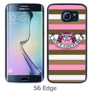Unique Samsung Galaxy S6 Edge Case ,Hot Sale And Popular Designed Case With Juicy 09 Black Samsung Galaxy S6 Edge Cover Phone Case