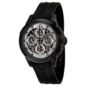 Perrelet Chronograph Split Second Skeleton Men's Automatic Watch A1045-3A