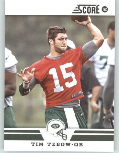2012 Score Football Card #184 Tim Tebow - New York Jets (NFL Trading Card)