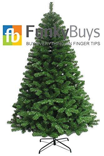 FunkyBuysÃ'Â Slim Green Colorado Spruce Artificial Christmas Tree (180cm / 1.8m / 6ft) by FunkyBuys (Spruce Colorado Christmas Tree)