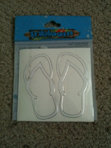 (Inbloom Car Stickers - Mini Sandles - Assorted)