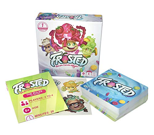 - Renoki - Frosted Card Game About Battling Gourmet Cupcakes. Portable